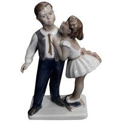 Porcelain Figurine, Lyngby, Denmark