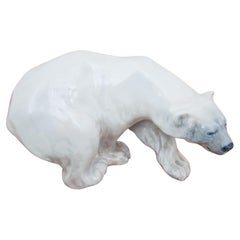 Porcelain Figurine of the Bear Roayl Copenhagen #1137