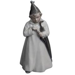 Porcelain Sandman  Figurine Royal Copenhagen