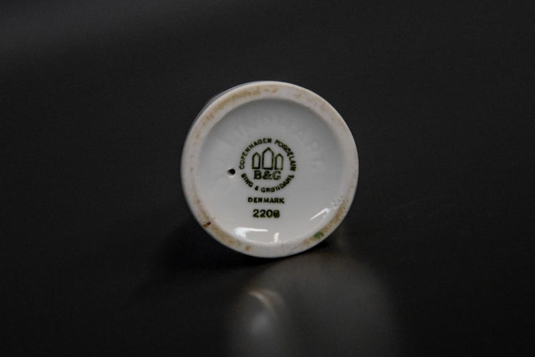 20th Century Porcelain Figurines Bing & Grondahl For Sale