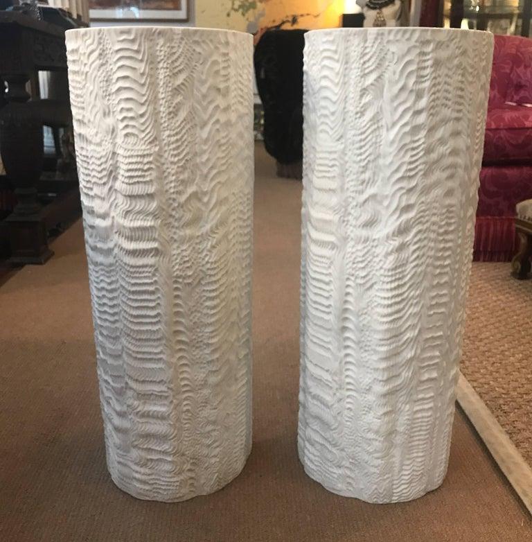 Porcelain Floor Vases Umbrella Holders Rosenthal Studio Line At 1stdibs