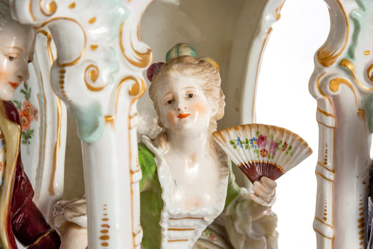 Ludwigsburg 1765-1770 Porcelain  Mark For Ludwigsburg  Measures: Height 28 cm Diameter 31 cm  Price US$12,000.