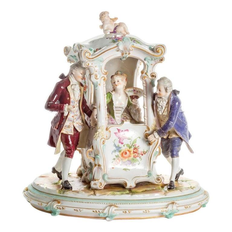 Porcelain Group, Germany For Sale