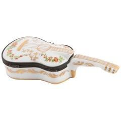 Porcelain Guitar Pill Box