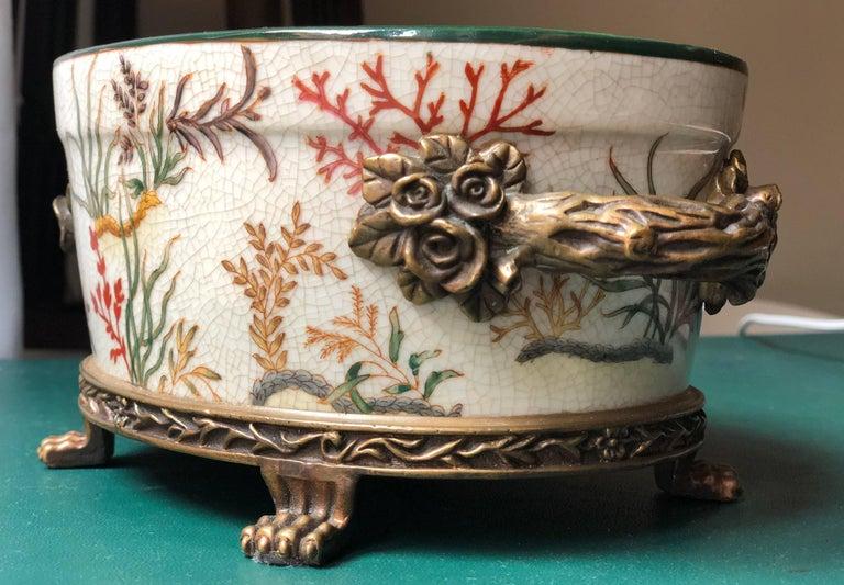 G C Interiors : porcelain hand painted flowerpot jardiniere g and c denmark for sale at 1stdibs ~ Watch28wear.com Haus und Dekorationen