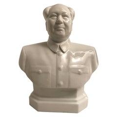 Porcelain Mao Tse Tung Bust