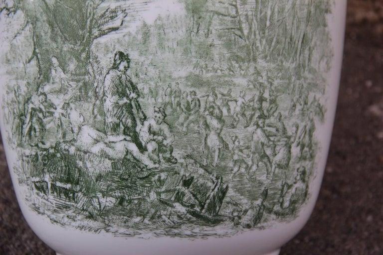 Porcelain Midcentury Italian Vase Guido Andloviz for Verbano Lavenia, 1950 For Sale 1