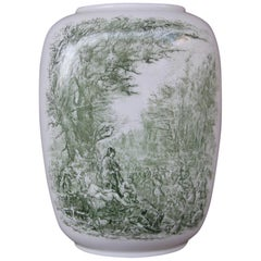 Porcelain Midcentury Italian Vase Guido Andloviz for Verbano Lavenia, 1950