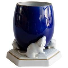 Porcelain of Mice and Vase 'Fraureuth'