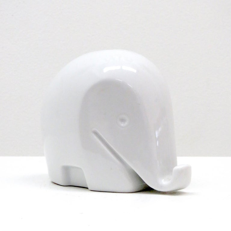 Glazed Porcelain Piggy Bank 'Drumbo' by Luigi Colani, 1970 For Sale