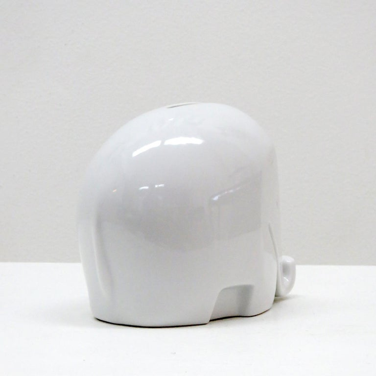 Porcelain Piggy Bank 'Drumbo' by Luigi Colani, 1970 In Excellent Condition For Sale In Los Angeles, CA