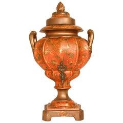 Porcelain Samovar, Tea or Coffee Urn Handmade in Italy
