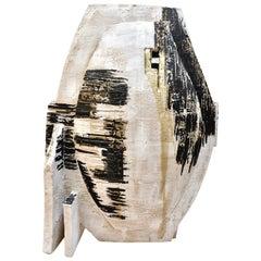 Porcelain Sculpture by Kathryn Robinson-Millen with Terra Sigillata