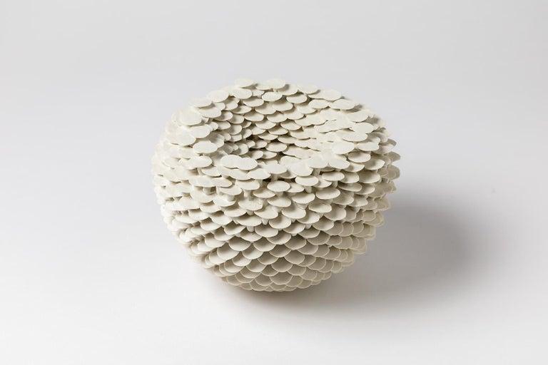 A porcelain sculpture entitled