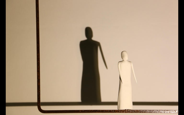 This sculpture and table lamp is called