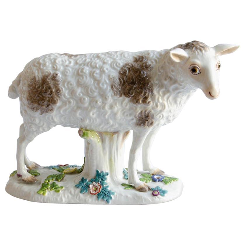 Porcelain Sheep 'Meissen'