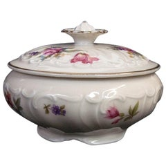 Porcelain Sugar Bowl Rosenthal Elfenbein