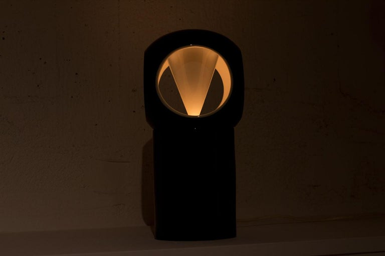 Porcelain Table Lamp by Carl-Harry Stålhane, Sweden For Sale 6