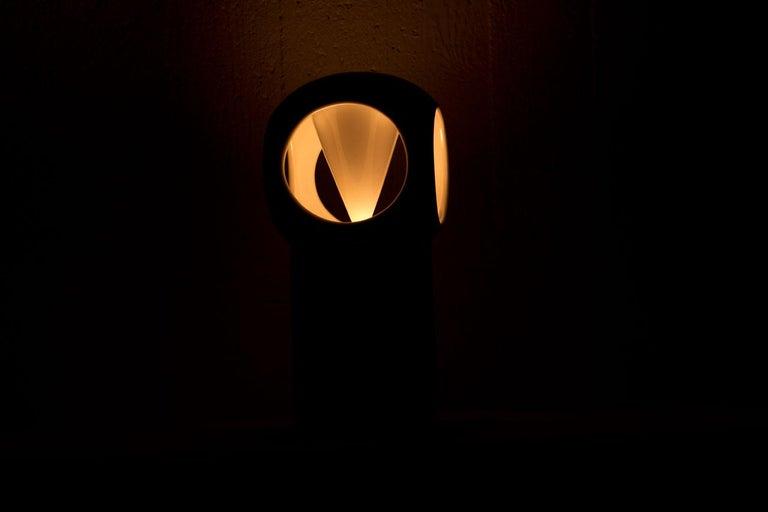 Porcelain Table Lamp by Carl-Harry Stålhane, Sweden For Sale 7