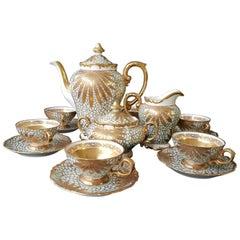 Porzellan Tee oder Kaffeeset für Heinrich Selb Bavaria Company