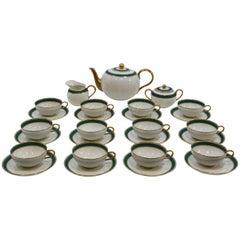 porcelain tea set by G. Gariboldi for Ginori ,1939