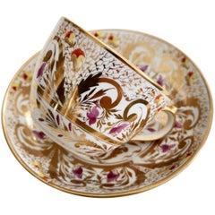 Porcelain Teacup Miles Mason, Gilt Pattern, Provenance, Regency, circa 1810