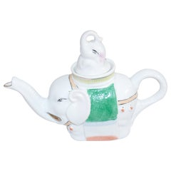 Porcelain Teapot in the Form of an Elephant