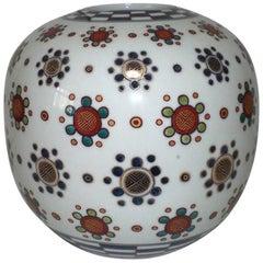 Porcelain Vase by Japanese Master Artist
