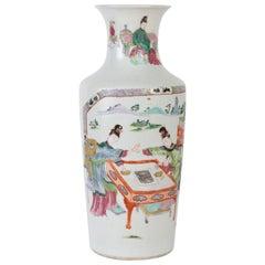 Porcelain Vase, China, 18th Century, Pink Family
