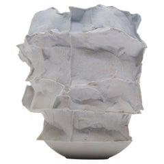 Porcelain Vase Handsculpted by Monika Patuszyńska