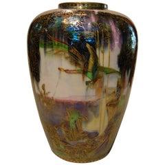 Porcelain Wedgwood Fairyland Lustre Vase
