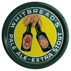 Porcelain Whitbread's Beer Tray, Mid-20th Century