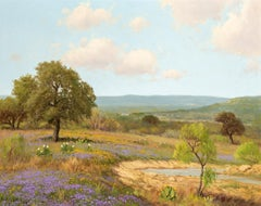 """""""Verbena Ranch""""  Texas Verbena Wildflowers in the Hill Country"""