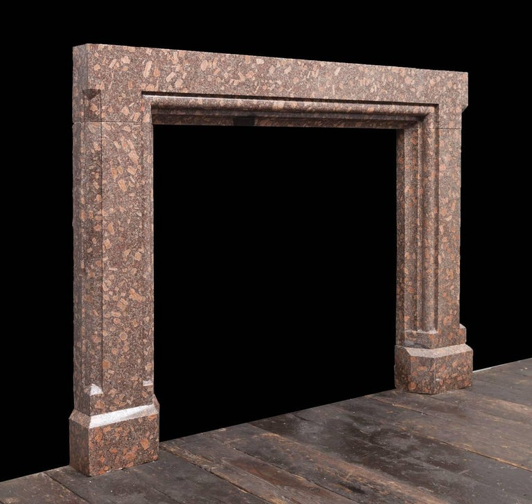 English Porphyry Fireplace For Sale