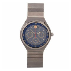 Porsche Design by IWC Quartz Chronograph and Moon Phases Titanium Wristwatch