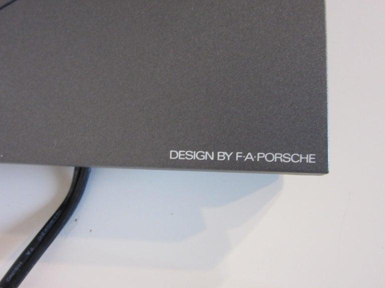 Plastic Porsche Design Jazz Lamp by PAF Studio For Sale