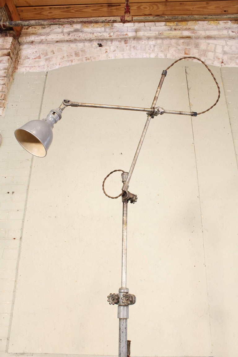 Portable Oc White Floor Task Reading Lamp Light With Three