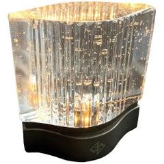 Portable USB Table Lamp LED Mid Century Rhythm André Fu Living Bronze Glass New