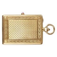 Portait Box Signed Cartier à Paris, 20th Century
