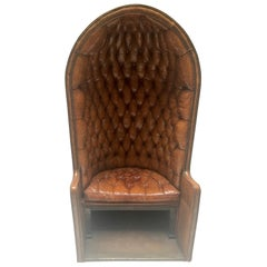 Porter's Chair Having Belonged to Claude François