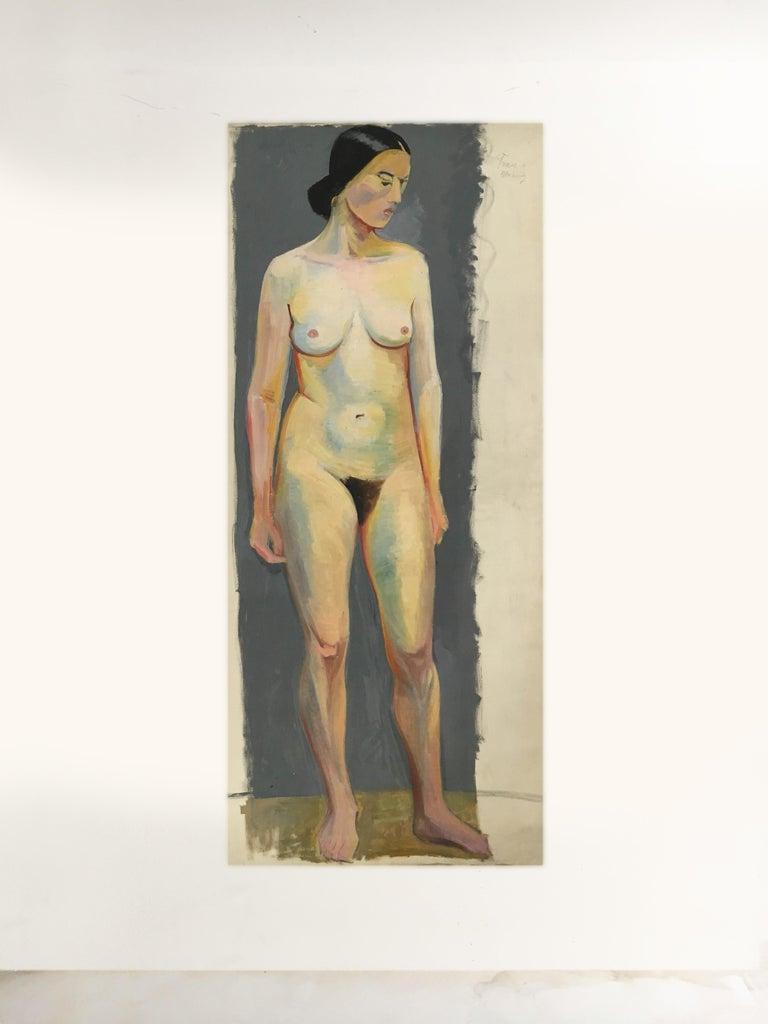 Portfolio of five life-size paintings, Vienna, 1933.