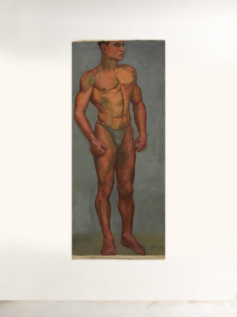 Austrian Portfolio Life-Size Paintings, Vienna, 1933 For Sale