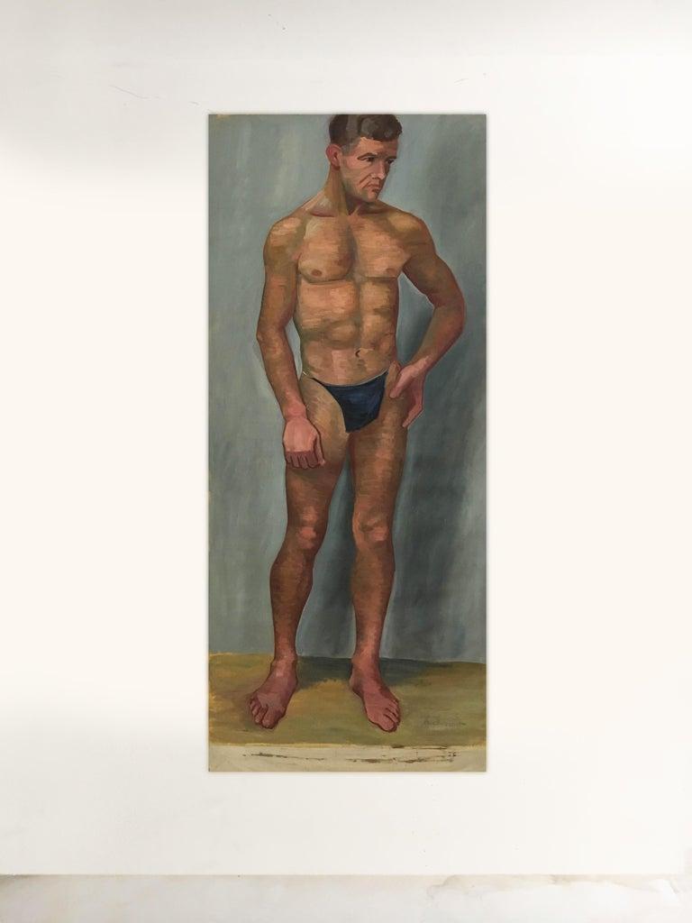 Portfolio Life-Size Paintings, Vienna, 1933 In Good Condition For Sale In Vienna, Vienna