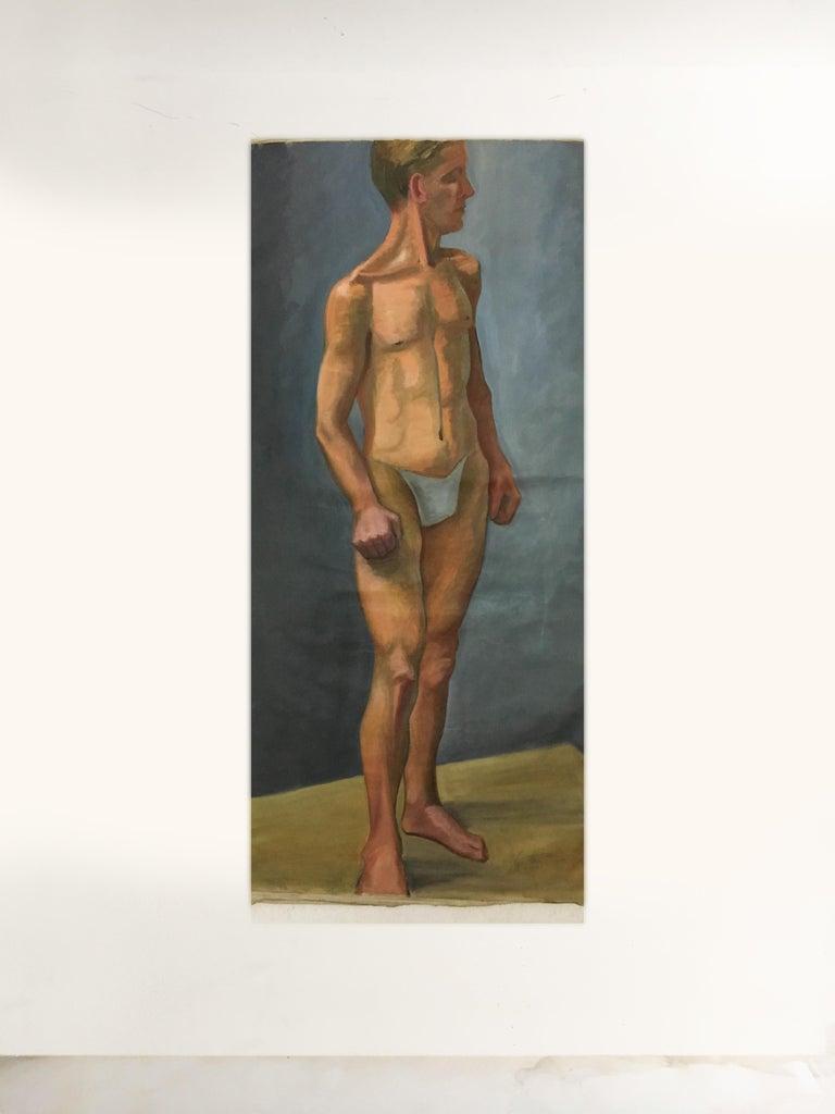 Canvas Portfolio Life-Size Paintings, Vienna, 1933 For Sale