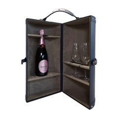Portmanteau Leather Wine Box