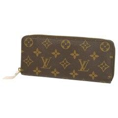 portofeuilles  Clemence  Womens  long wallet M61298  Rose ballerine Leather