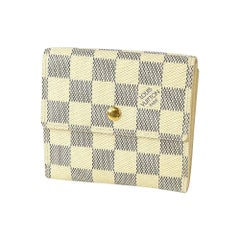 portofeuilles  Elise  Womens  long wallet N61733  white Leather