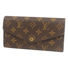 portofeuilles  Sarah  Womens  long wallet M61734 Leather