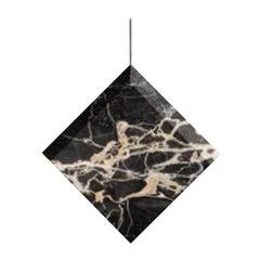 "Portoro Marble Ceiling Lamp ""Werner Jr."" in Stock"