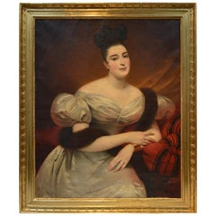Portrait by Edouard Louis Dubufe